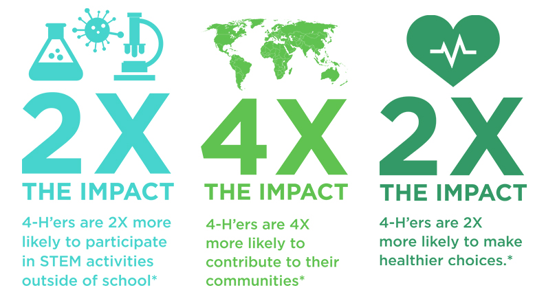 4-H impacts