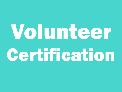 volunteer certifiation