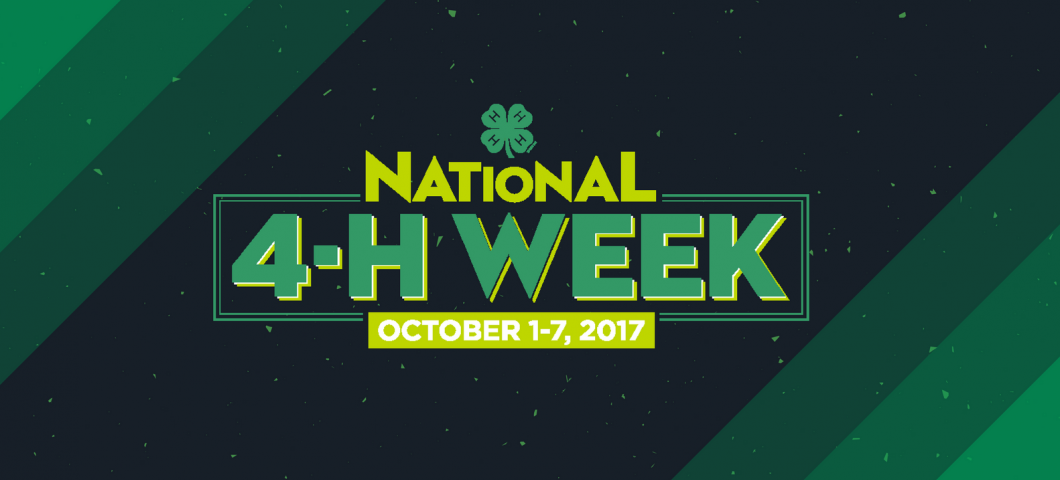 national 4-H week banner